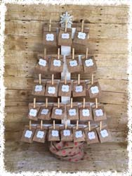 Countdown to Christmas Wooden Tree $50