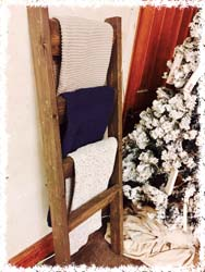 Blanket Ladder $50 5'x20""