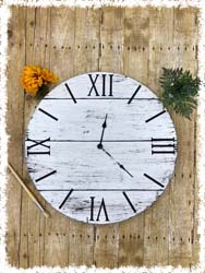 Farmhouse Clock $60 23.5""