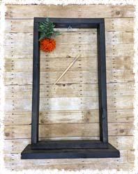 "Hanging Basket Stand $50 37.5""x20"""