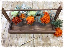 "Rustic Table Runner Tray $45-65 24-46.5""x12""-46.5"