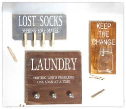 Laundry Room Decor $45