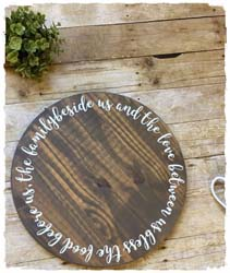 Custom Lazy Susan $45 18""