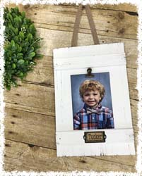 Wood Picture Frame $35