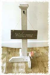 Front Door Sign Post $50 36""