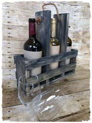 Wine Caddy $40 14""