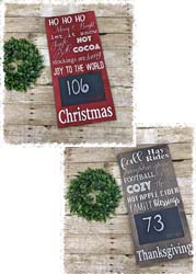 """Countdown Sign $45 11.25""""x24"""""""