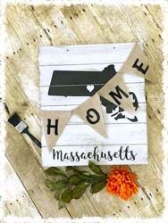 """State Home Sign $45 16""""x18"""""""