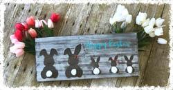 """Bunny Family 11.25""""x16"""""""